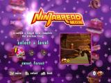 Ninjabread Man Windows The game starts with the level select menu. Each level can be played in four different game modes, see screenshot three for further information