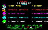 "DoorDoor PC-88 This ""mkII"" version, with nicer graphics and music, apparently first came out in 1985."