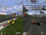 Crescent Suzuki Racing Windows A two player race with the screen split vertically. There is an option to split horizonlally in the game configuration screens