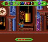 The Wizard of Oz SNES Scarecrow and clocks