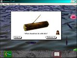 The Amazon Trail Windows 3.x Ah yes I'm great at fishing ~_~