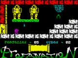 Abu Simbel Profanation ZX Spectrum Next room