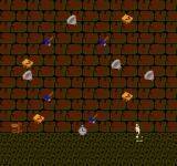 "Sanma no Meitantei NES A ""dodge the falling objects"" minigame."