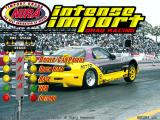 NIRA: Intense Import Drag Racing Windows Title screen