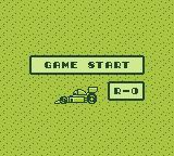Power Racer Game Boy Start Screen