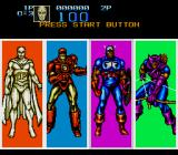 Captain America and the Avengers Genesis Character select
