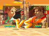 Street Fighter Alpha: Warriors' Dreams Windows Chun-Li vs Guy