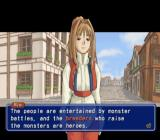 Monster Rancher 4 PlayStation 2 Overview of the monster breeder relationship between humans and monsters.