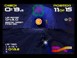 WipEout 64 Nintendo 64 in cave