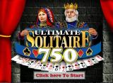 Ultimate Solitaire 750 Windows This is the first screen the player sees when the game loads
