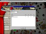 Ultimate Solitaire 750 Windows The game statistics screen