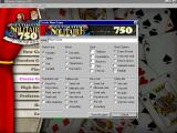 Ultimate Solitaire 750 Windows The game creation screen where the player can create their own Solitaire game.