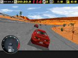 The Need for Speed DOS Desert race