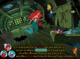 Disney presents Ariel's Story Studio Windows Clicking on the highlighted word shows a synonym
