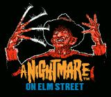 A Nightmare on Elm Street NES Title Screen