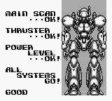 Battle Unit Zeoth Game Boy Mech