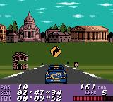 V-Rally: Championship Edition Game Boy Color Little glitch