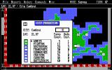 Empire: Wargame of the Century DOS Select what to produce in this city