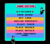 Monopoly NES Game Editor