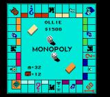 Monopoly NES Game Board