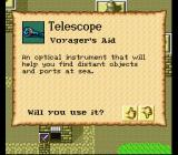 New Horizons SNES The useful telescope, one of the various items in the game
