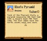 New Horizons SNES One of the discoveries I made during my travels - the Khufu Pyramid