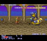 The King of Dragons SNES Minotaur to eliminate.