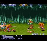 The King of Dragons SNES Small glitch.