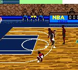 NBA Jam 99 Game Boy Color Ball lost
