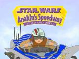 Star Wars: Anakin's Speedway Windows Intro showing the title screen