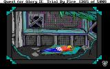 Quest for Glory II: Trial by Fire DOS Accommodation at Blue Parrot Inn