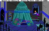 Quest for Glory II: Trial by Fire DOS A bit of illegal business (the best looking place of all where you can steal something)...