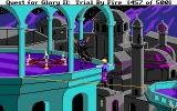 Quest for Glory II: Trial by Fire DOS A precarious situation...
