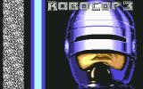 RoboCop 3 Commodore 64 Title