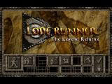 Lode Runner: The Legend Returns DOS Title Screen