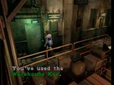 Resident Evil 3: Nemesis PlayStation Using the warehouse key
