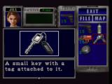 Resident Evil 3: Nemesis PlayStation Taking a look through your inventory