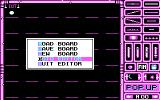 Cool Ball DOS Level editor (CGA)