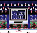 Wayne Gretzky Hockey NES Title Screen