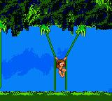 Disney's Tarzan Game Boy Color Moving on creepers
