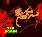 Disney's Tarzan Game Boy Color Try again....