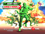 Army Men: Sarge's Heroes 2 Nintendo 64 Nice war act.
