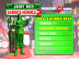 Army Men: Sarge's Heroes 2 Nintendo 64 Main menu