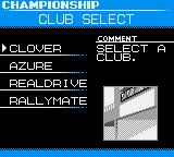 International Rally Game Boy Color Select club
