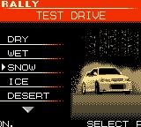 International Rally Game Boy Color Test drive