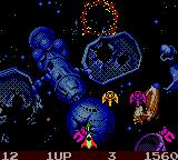 Galaga: Destination Earth Game Boy Color More enemies... and more... and more...