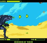 Godzilla: The Series - Monster Wars Game Boy Color Fire!