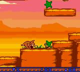 The Land Before Time Game Boy Color Scorpion IN star.