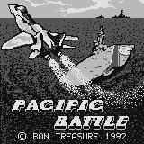 Pacific Battle Supervision Title screen. Fwoosh!