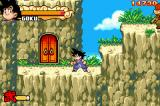 Dragon Ball: Advanced Adventure Game Boy Advance Door to bonus room
